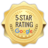 Five Star Google Rating